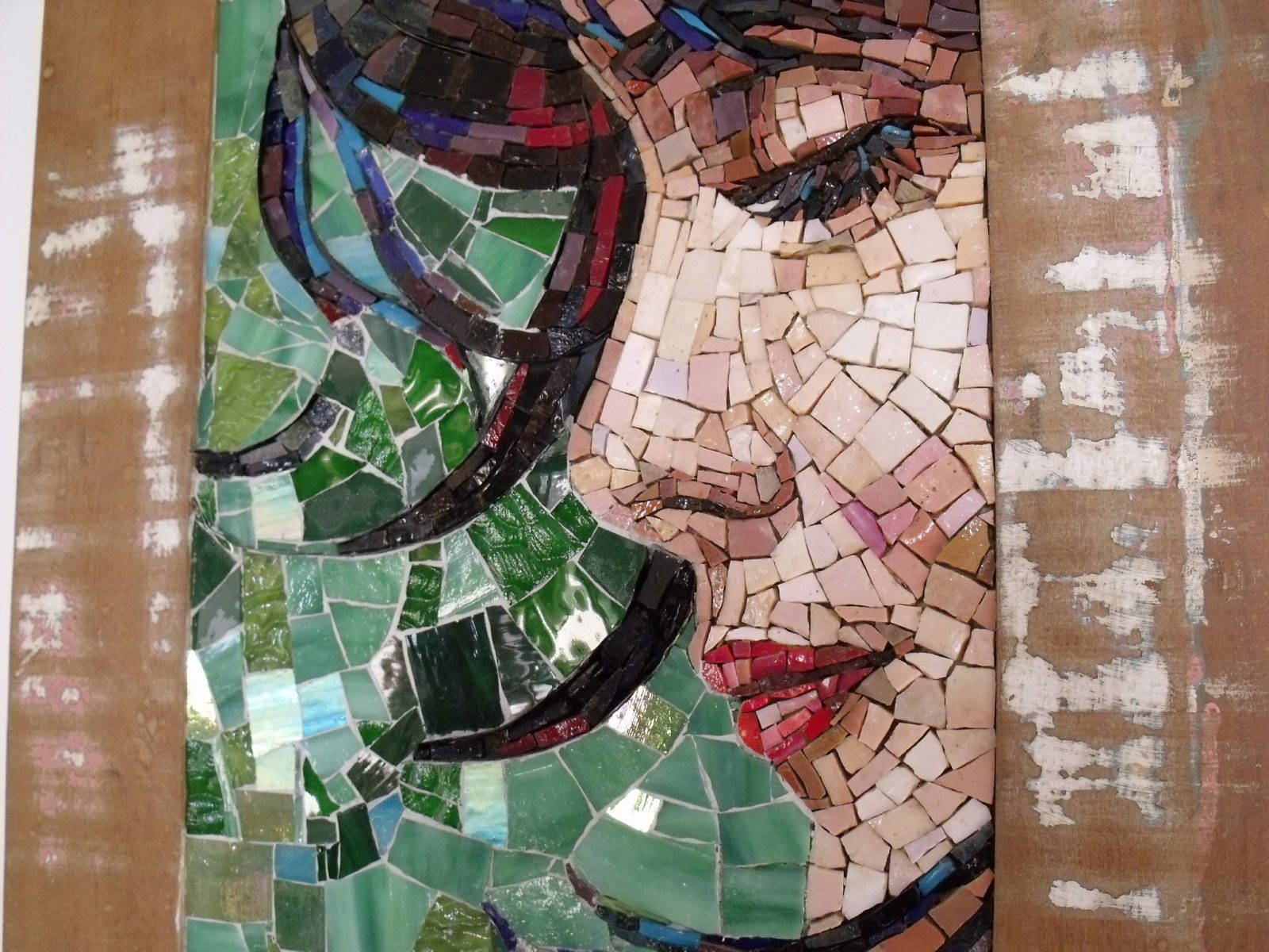 Rosto em Mosaico